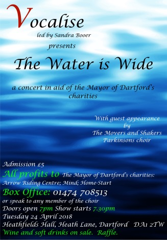 Poster - The Water is Wide
